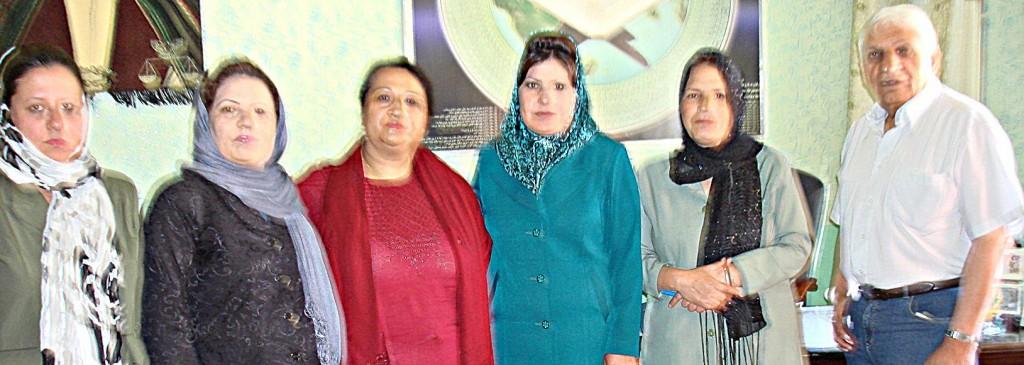 Mädchengymnasium Lycee Sultana Razia: Gepräche mit Direktorin und Stellvertretern