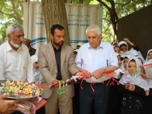 2013 Kinderheim Charikar: Eröffnungszeremonie für neues Wasserreservoir