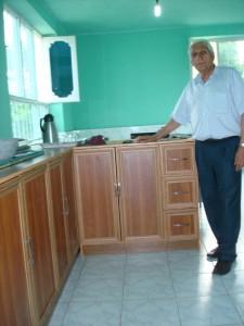Kinderheim Charikar: neue Küche