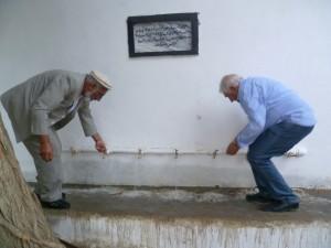 2013 Charikar: Wasserreservoir im Lycee Tadjrobawie