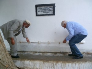 Charikar: Wasserreservoir im Lycée Tadjrobawi