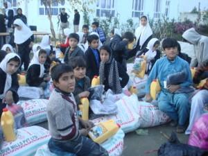 2011 Lebensmittelverteilung im Kinderhaus Charikar