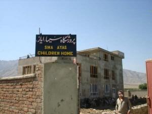 2006 Rohbau des Kinderhauses in Charikar