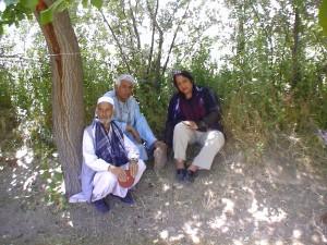 2006 Die Grundsteinlegung für das Kinderhaus in Charikar
