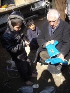 2007 Winterhilfe, Ein Paar Stiefel für jedes Kind