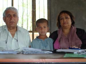 2007 Aufnahmetag im Kinderhaus in Charikar