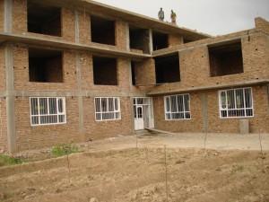 2007 Kinderhaus Charikar, kurz vor der Fertigstellung