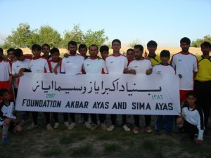 2007 Auch Sportler werden durch die Stiftung unterstützt.