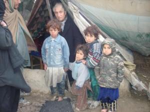 2009 Winterhilfe, Leben im Zeltlager