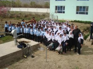 2009 Gruppenbild beim Brunnen