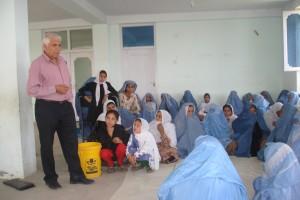2010 Planung eines Frauenprojektes in Charikar