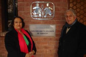 2011 Lahore / Pakistan, Besuch im SOS Kinderdorf