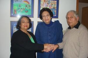 2011 Lahore / Pakistan, Treffen mit der Präsidentin des SOS Kinderdorfs