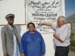 2014 Besuch der Klinikbaustelle in Aliceghan / Barikau