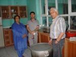 2014 Die umgebaute Küche im Kinderhaus Charikar