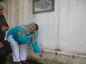 2014 Das Wasserreservoir im Gymnasium Lycee Tadjrobawie der Stadt Charikar