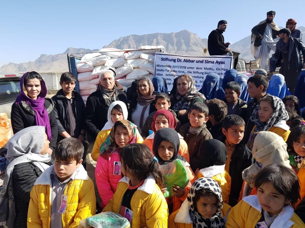 das Dorf Barikab ( eine Flüchtlingssiedlung)